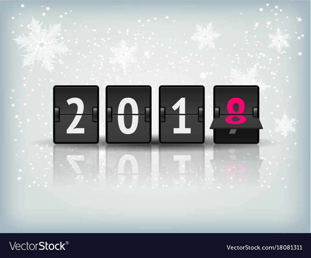 New year countdown banner Royalty Free Vector Image New year countdown banner vector image