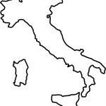 Italy Map Icon Royalty Free Vector Image Vectorstock
