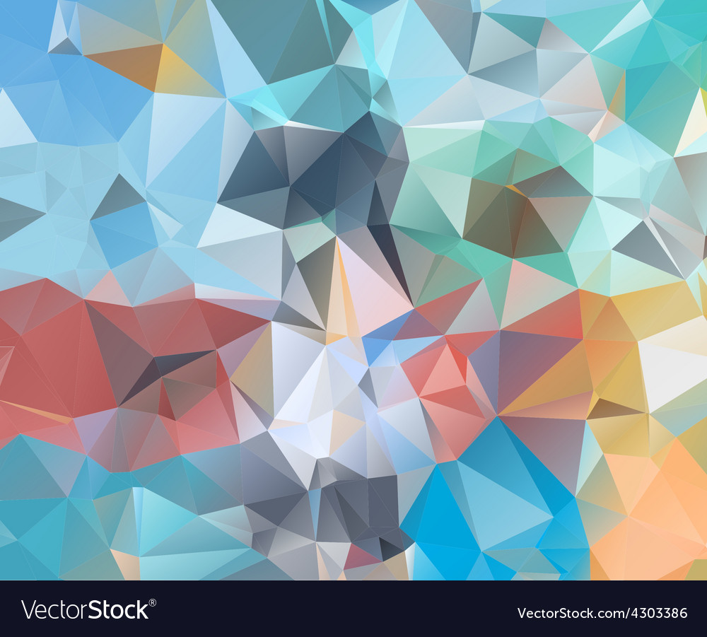 Abstract geometric background Royalty Free Vector Image Abstract geometric background vector image