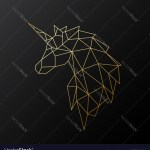 Geometric Horse Tattoos Vector Images 76