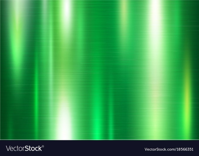 Green metal texture background Royalty Free Vector Image