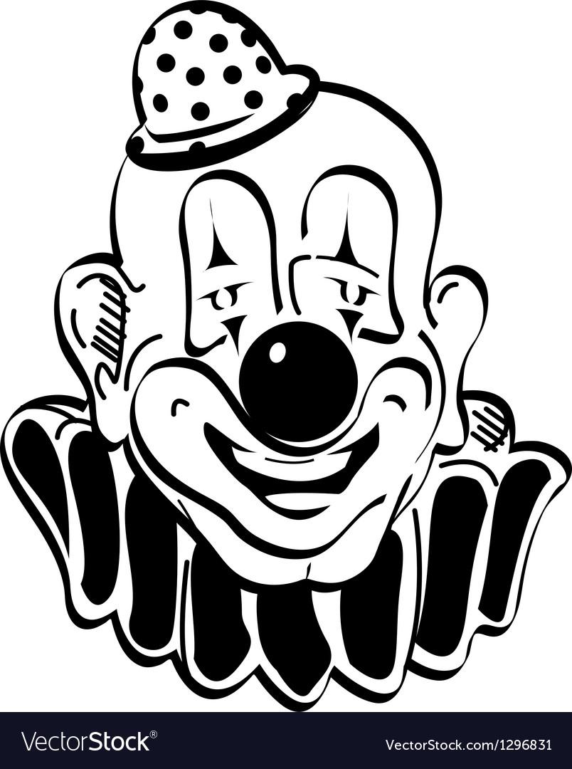 Happy Clown Royalty Free Vector Image Vectorstock