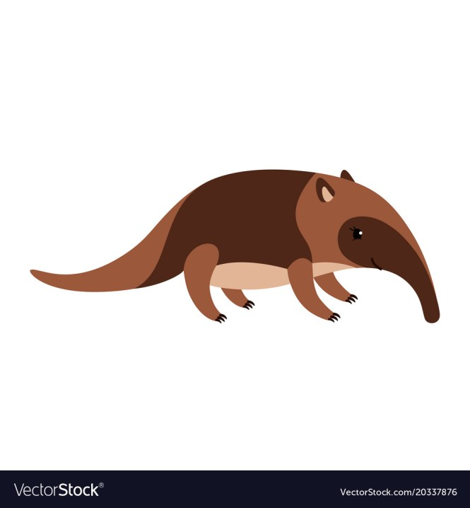Anteater On Ant Hill Clipart Size 38 Kb