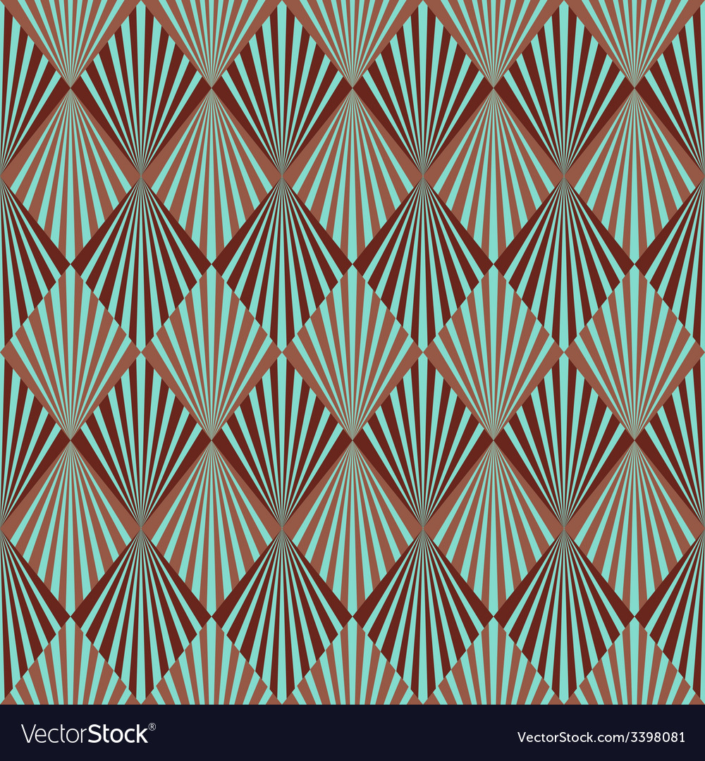 Art Deco Style Seamless Pattern Texture Royalty Free Vector