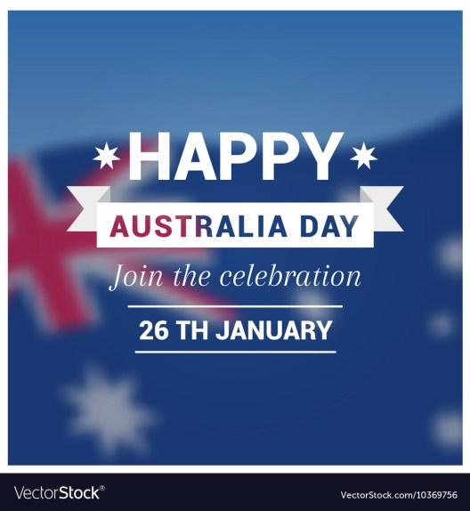 Australia day holiday