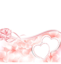 blank cards wedding invitations vector