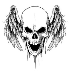 Skull Tattoo Vector Images Over 22 000