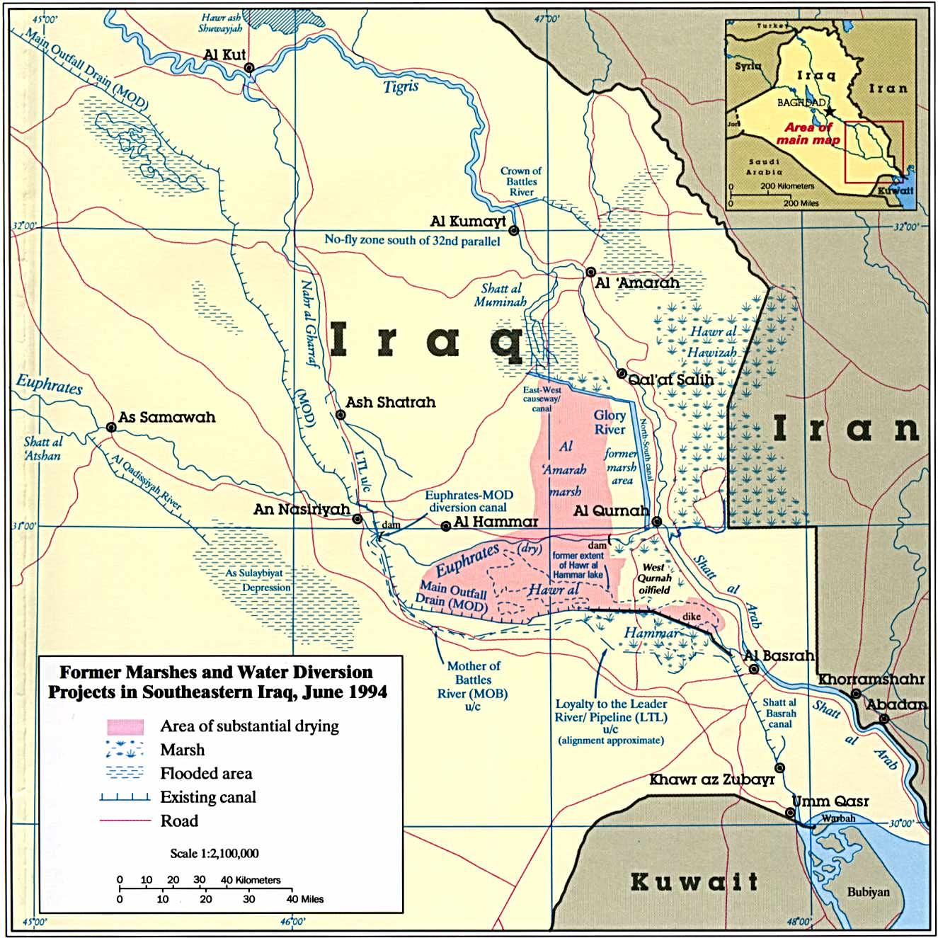 Why Saddam drained Iraq's marshes