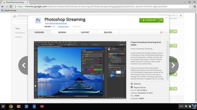 Adobe Photoshop Chrome
