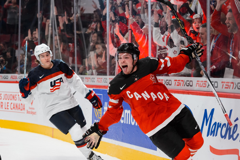 United States Vs Canada 2015 Final Score Max Domi Leads