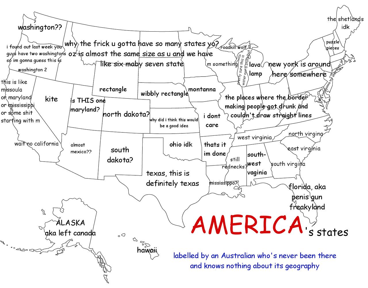 27 Hilariously Bad Maps That Explain Nothing