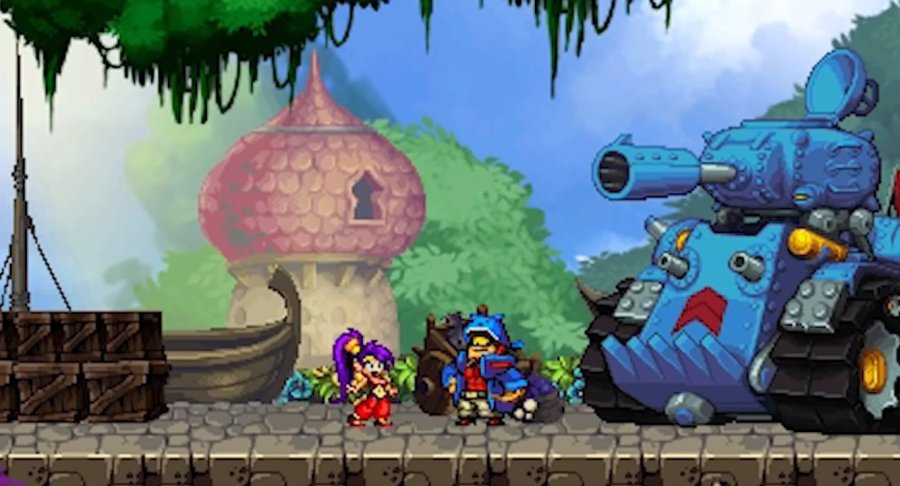 The best games for your new PS4  Xbox One  or Wii U   The Verge Shantae and the Pirate s Curse
