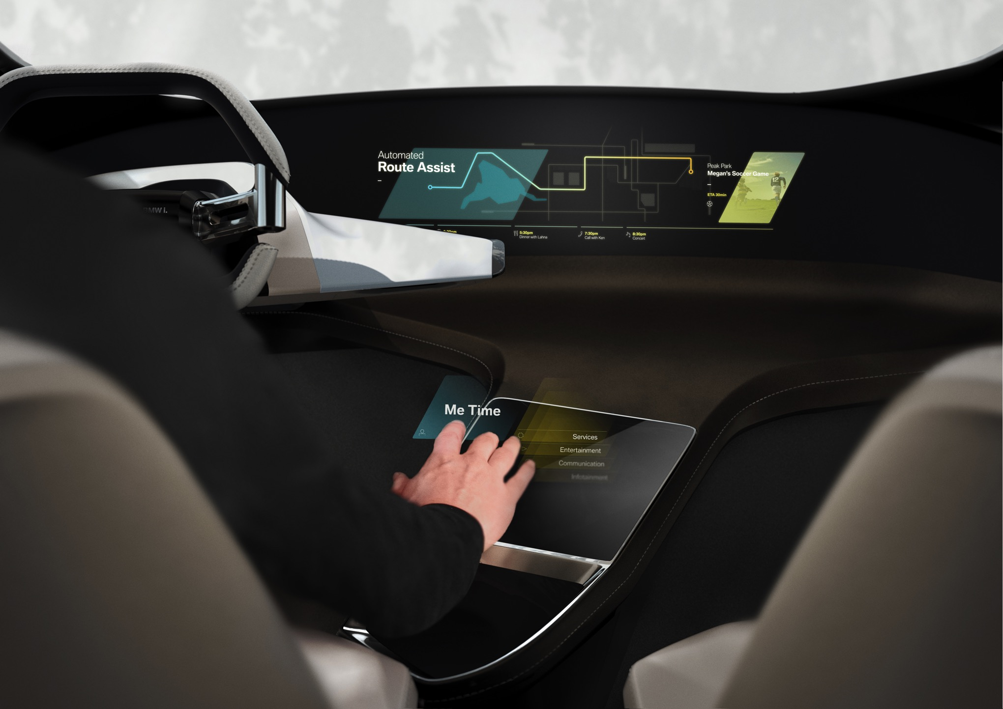 BMW thinks your car interior will look like this in five years   The     1 of 9