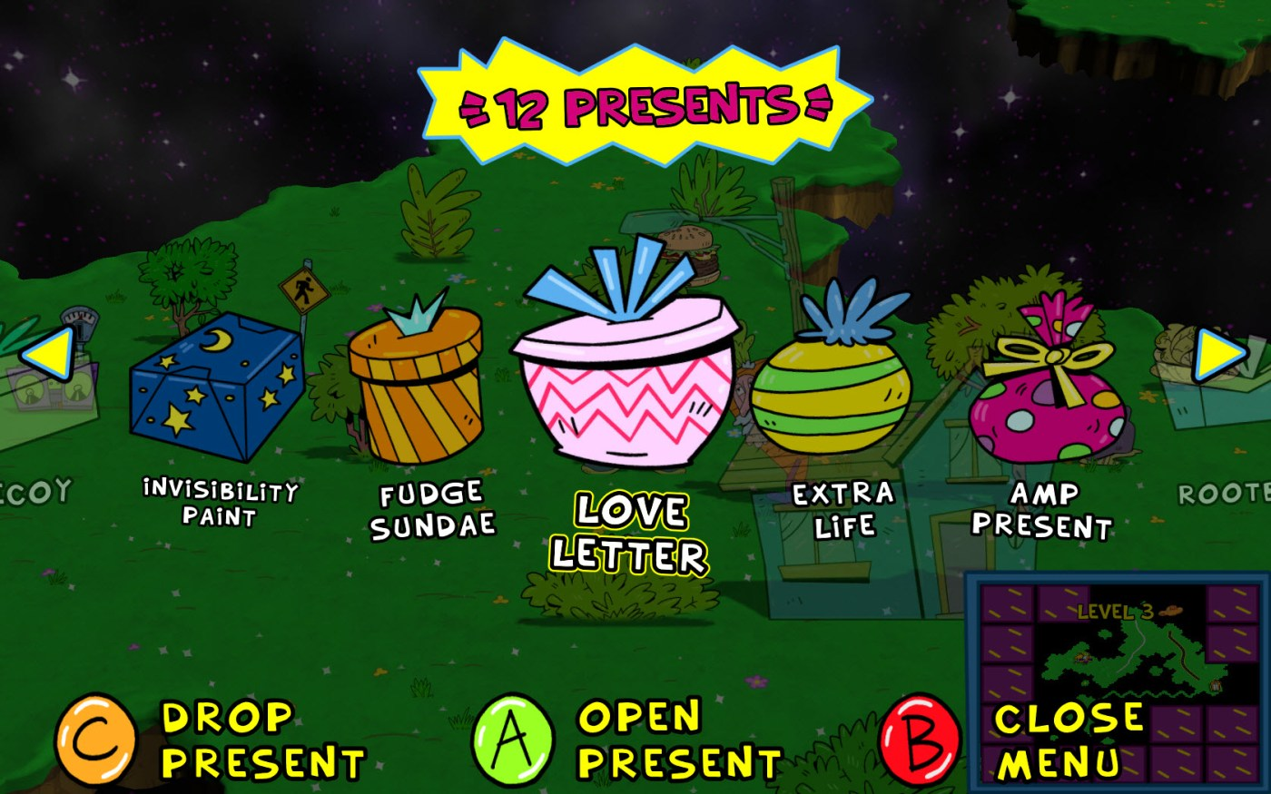 Image result for toejam and earl back in the groove presents