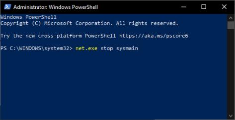 100 Использование диска - PowerShell - sysmain - Windows Wally