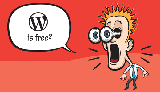 WordPress is Free