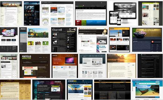 Chủ đề con WordPress