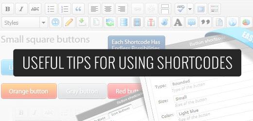 Menggunakan Shortcode