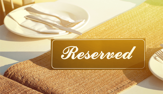 Restaurant Reservation WordPress