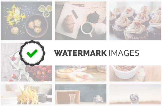 Watermark images in WordPress