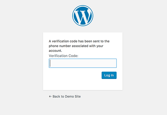 Enter your SMS verification code
