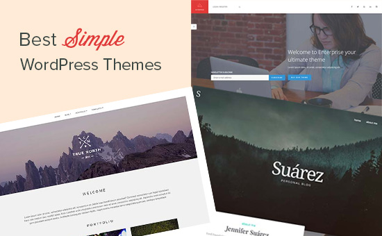 Best simple WordPress themes