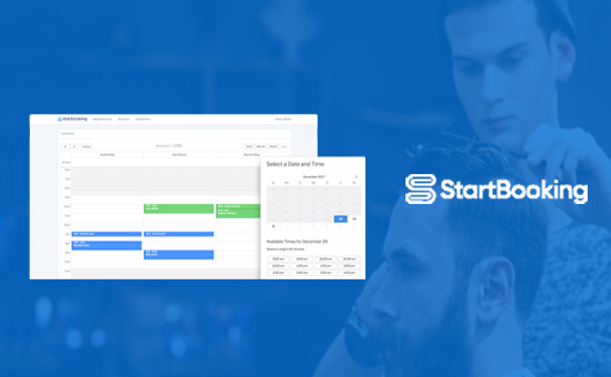 Better manage online booking with WordPress using StartBooking