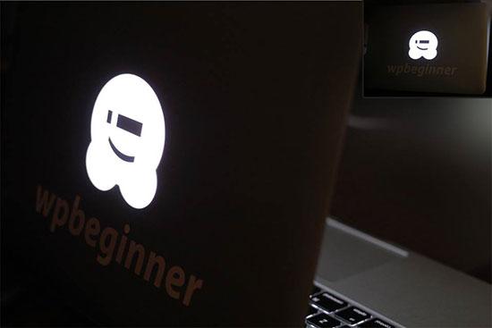 WPBeginner branded laptop