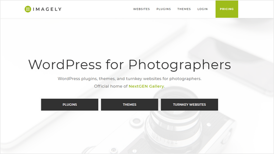 Imagely - WordPress Product Company for Photographers