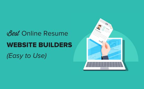 Best online resume website builders (easy to use)