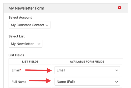 WPForm email fields