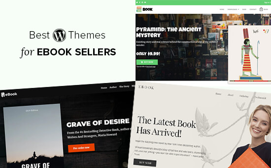 Best WordPress Themes for Selling eBooks