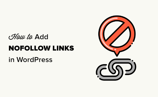 Adding nofollow links in WordPress