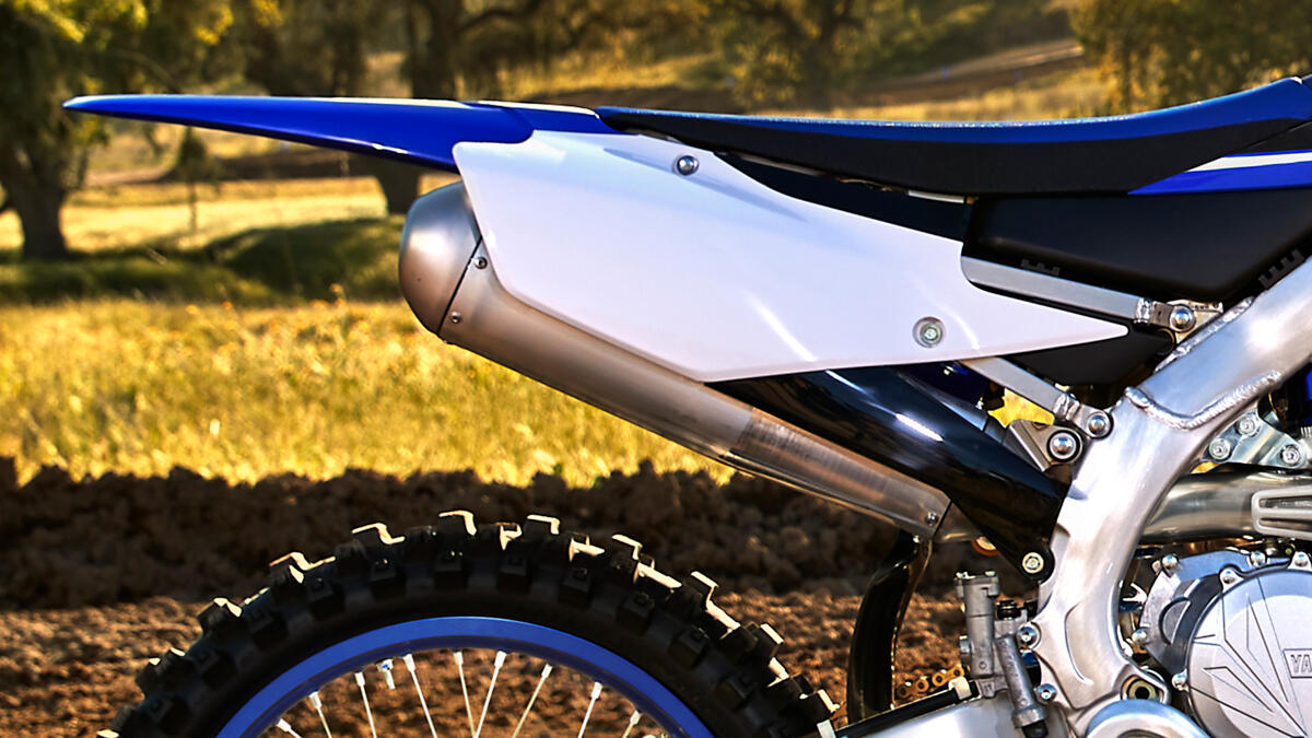 yamaha yz450f features and technical