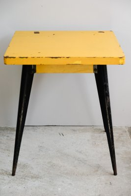 model 55 table by xavier pauchard for tolix 1950s