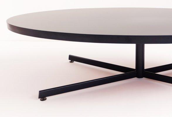 grande table basse ovale 1960s