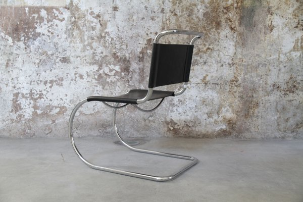 Vintage Mr 10 Tubular Chair By Ludwig Mies Van Der Rohe For Sale At Pamono
