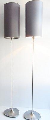 Lampade Da Terra Di Ikea Anni 70 Set Di 2