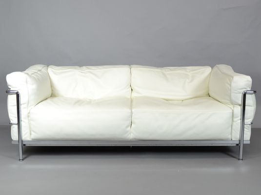 Vintage Lc3 Sofa By Le Corbusier Charlotte Perriand And Pierre