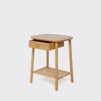 table d appoint hardy en chene avec tiroir par another country