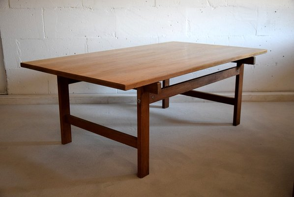 mid century modern coffee table by hans j wegner for andreas tuck 1960s