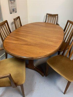 table de salle a manger 6 chaises de g plan