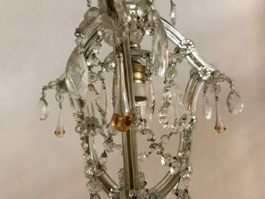 Sezione dedicata ai lampadari vintage anni 50 e 60, di murano, in cristallo e altro. Lampadario In Cristallo E Vetro Di Murano Anni 50 In Vendita Su Pamono