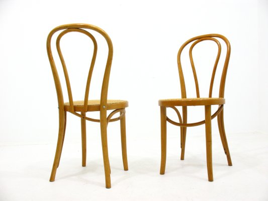 Tavolo falegname con sedie anni 70. Vintage Wooden Side Chairs 1970s Set Of 2 For Sale At Pamono