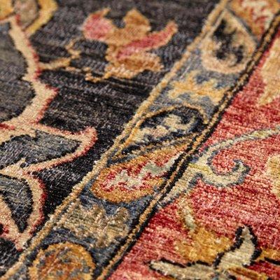 grand tapis en laine fait main inde 2013