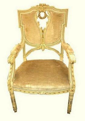 chaise d appoint style louis xvi antique 1870