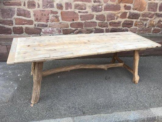 vintage driftwood table