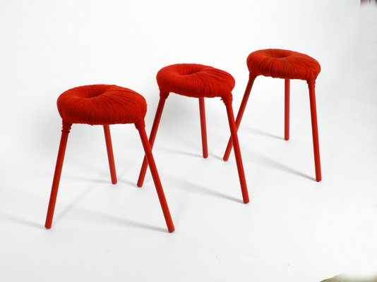 Tabourets Eskilstuna Par Findlay Graeme Mcelroy Et Carmen Pour Ikea 1990s Set De 3 En Vente Sur Pamono