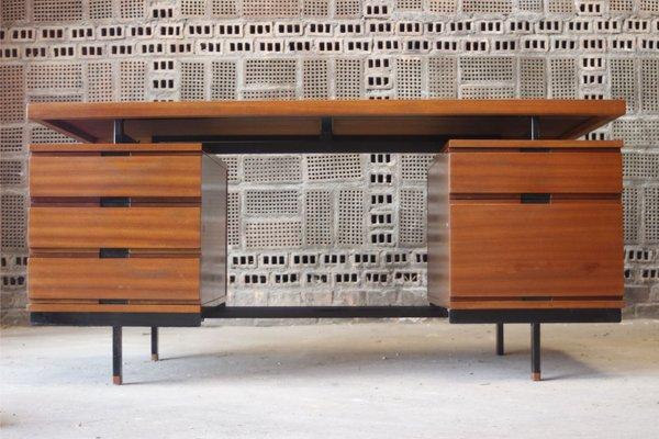 Schreibtisch Aus Mahagonifurnier Von Pierre Guariche Fur Minvielle 1950er Bei Pamono Kaufen