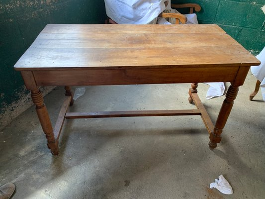 Small Antique Farmhouse Dining Table For Sale At Pamono